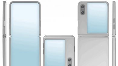 صورة Huawei تعمل ربما هي الأخرى على هاتف قابل للطي يمتاز بتصميم صدفي