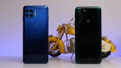صورة استعراض هواتف موتورولا Moto one Fusion و Moto G 5G Plus