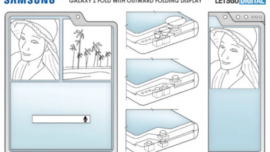 صورة سامسونج تسجل براءة اختراع جديدة لثلاث هواتف قابلة للطي