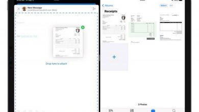 صورة تطبيق Outlook لأجهزة الآيباد يحصل على الدعم لخاصية سحب وإفلات الملفات