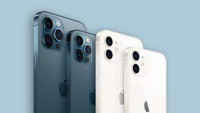 صورة هواتف iPhone 12 التي تستخدم شريحتي إتصال SIM لن تدعم شبكات 5G