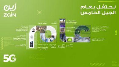 """صورة """"زين السعودية"""" تحتفل بمرور عام على إطلاق شبكتها للجيل الخامس 5G"""