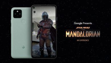 """صورة جوجل تقدم تجربة Mandalorian AR """"حرب النجوم"""" فقط على هواتف 5G محددة"""