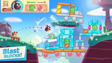 صورة Rovio تعود إلى جذورها بإطلاقها لعبة Angry Birds Journey