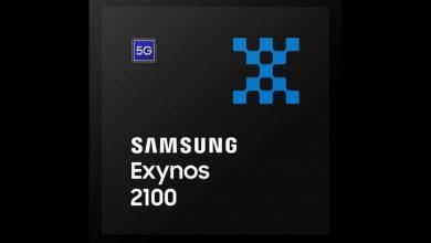 صورة سامسونج تكشف عن رقاقة إكسينوس 2100 مرفقة بمودم 5G وبسرعة 40% أعلى